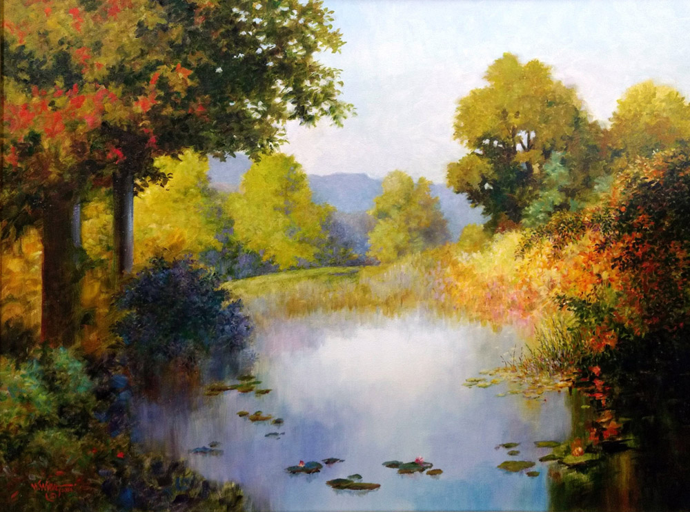 Pond in the Blue Ridge